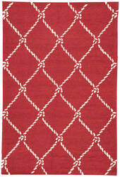 Jaipur Living Coastal Lagoon Fish Net Col53 Rio Red Area Rug