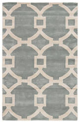 Jaipur Living City Regency Ct70 Sterling Blue - Snow White Area Rug