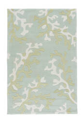 Jaipur Living Fusion Coral Fixation FN06 Birds Egg Green - Shadow Green Area Rug