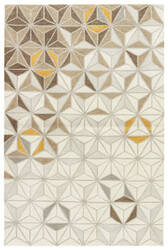 Jaipur Living Fusion Reid Fn57 Birch - Spruce Yellow Area Rug