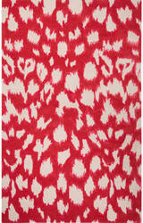 Jaipur Living Gramercy By Kate Spade New York Leopard Ikat Gkn04 Maraschino Area Rug
