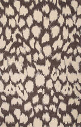 Jaipur Living Gramercy By Kate Spade New York Leopard Ikat Gkn05 Liquorice Area Rug
