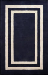Jaipur Living Gramercy By Kate Spade New York Double Border Gkn11 Navy Area Rug