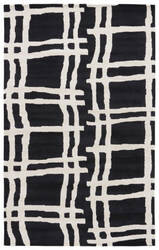 Jaipur Living Gramercy By Kate Spade New York Broken Plaid Gkn41 Black Area Rug