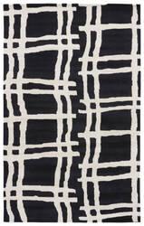 Jaipur Living Gramercy By Kate Spade New York Broken Plaid Gkn41 Black Area Rug
