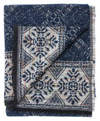 Jaipur Living Hamlin Throw Ham-06 Ham08 Total Eclipse - Vapor Blue Area Rug