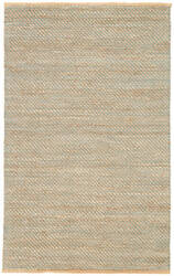 Jaipur Living Himalaya Diagonal Weave Hm17 Deep Jungle - Almond Buff Area Rug