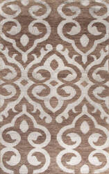 Jaipur Living Heritage Arabesque Hr08 Wood Brown Area Rug