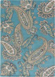 Jaipur Living Timeless By Jennifer Adams Paisley Jat29 Smoke Blue Area Rug