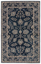 Jaipur Living Kilan Sundamar Kil11 Midnight Navy - Lead Area Rug