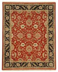 Jaipur Living Jaimak Lerik JM05 Red/Ebony Area Rug