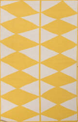 Jaipur Living En Casa By Luli Sanchez Flat-Weave Harlequin Lsf25 White/Yellow Area Rug