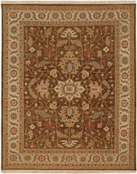 Jaipur Living Jaimak Margara JM16 Cocoa Brown/Soft Gold Area Rug