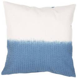 Jaipur Living Traditions Made Modern Pillow Max05 Mnp12 Blue Sapphire