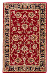 Jaipur Living Mythos Anthea My08 Red / Ebony Outlet Area Rug