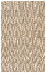 Jaipur Living Naturals Tobago Alix Nat22 Taupe - White Area Rug