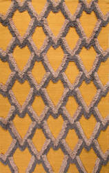 Jaipur Living National Geographic Home Collection Loras Nfp06 Amber - Simply Taupe Area Rug