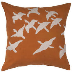 Jaipur Living National Geographic Home Collection Pillow Ng-01 Ngp03 Apricot Orange