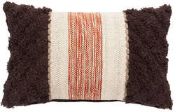 Jaipur Living National Geographic Home Collection Pillow Ng-26 Ngp46 Tobacco Brown