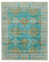 Jaipur Living Opus Allegro Op30 Green Milieu - Shaded Spruce Area Rug