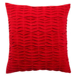 Jaipur Living Petal Pillow Pt02 Pet05 Red Ochre