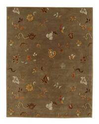 Rugstudio Sample Sale 53505R Gray Brown Area Rug