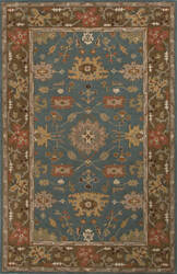 Jaipur Living Poeme Maxine Pm102 Teal Blue Outlet Area Rug