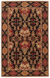 Jaipur Living Poeme Massiel Pm110 Jet Black - Red Ochre Area Rug