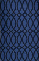 Jaipur Living Roosevelt By Kate Spade New York Loop De Loop Rkn01 Navy Area Rug