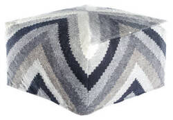 Jaipur Living Scandinavia Pouf Scan04 Scp15 Pewter - Wild Dove Area Rug