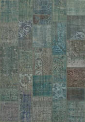 Jaipur Living Sketch Terrain Skh03 Grass Green and Turquoise Area Rug