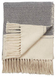 Jaipur Living Spirit Throw Spirit06 Spr08 White Swan - Black Iris Area Rug