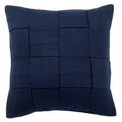 Jaipur Living Tabby Pillow Tabbysolid01 Tab01 Twilight Blue