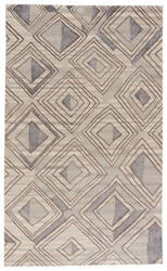 Jaipur Living Traditions Made Modern Premium Nimbus Tmp01 Major Brown - Lead Gray Area Rug