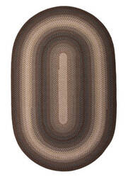 Jaipur Living Ultra Durable Braided Rugs Driftwood Ubr04 Hot Chocolate - Charcoal Gray Area Rug