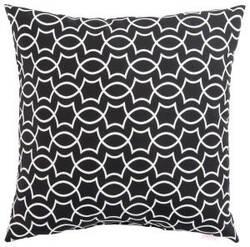 Jaipur Living Veranda Pillow Titan Ver139 Black - White