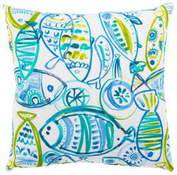 Jaipur Living Veranda Pillow Cast Ver140 Aqua - Green
