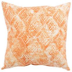 Jaipur Living Veranda Pillow Darrow Fresco Ver141 White - Orange