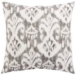 Jaipur Living Veranda Pillow Rivoli Fresco Ver149 Gray - White