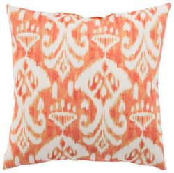Jaipur Living Veranda Pillow Rivoli Fresco Ver151 Orange - White