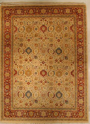 J. Aziz Haj Jalili V-1647 Ivory / Red Area Rug