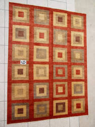 J. Aziz Peshawar Novelty Red- 86921 Area Rug