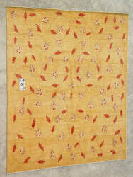 J. Aziz Peshawar Novelty Gold- 86904 Area Rug