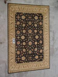 J. Aziz Peshawar Ult-325 Black-Beige 86983 Area Rug