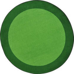Joy Carpets Kid Essentials All Around Green Area Rug