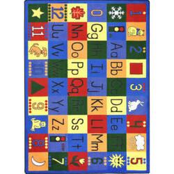 Joy Carpets Kid Essentials Around The Block Multi Area Rug