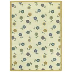 Joy Carpets Kid Essentials Awesome Blossom Soft Area Rug
