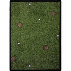 Joy Carpets Games People Play Back Nine Multi Area Rug