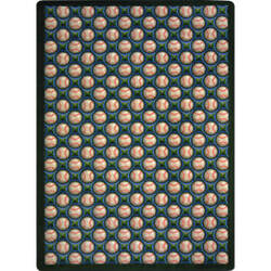 Joy Carpets Games People Play Bases Loaded Spring Training Area Rug