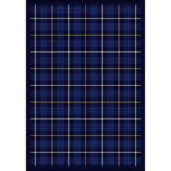 Joy Carpets Kaleidoscope Bit O' Scotch Seaside Blue Area Rug